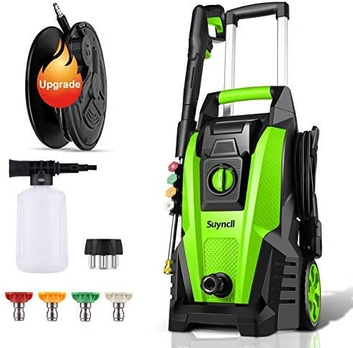 Power Washer Suyncll Pressure Great interest 3800 Luxury goods Electri PSI Max 2000W