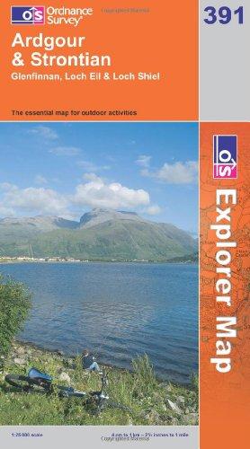 OS Explorer map 391 : Ardgour & Strontian