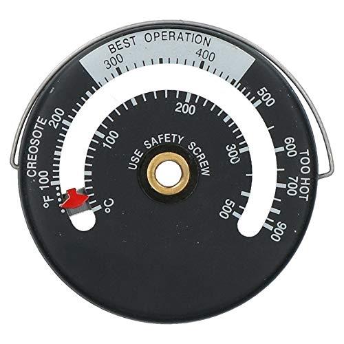 Poêle conduit de fumée thermomètre. Jauge de température pour poêle à bois