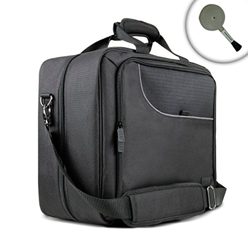 USA Gear PS4 Pro & PS3 Console Carrying Case Bag with Adjustable Shoulder Strap, Padded Interior & Multi-Function Storage Compartments Works with Playstation System & Gaming Accessories & More