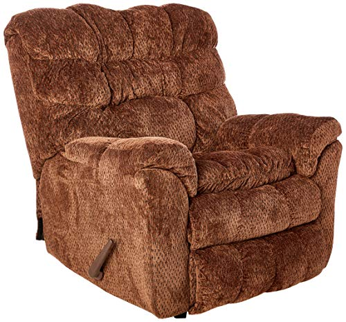 Lane Home Furnishings Simmons Upholstery Rocker Recliner, Aegean Chocolate