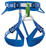 PETZL - Macchu Children's Sit Harness, Blue, 1