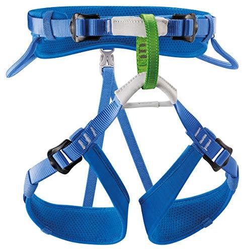 PETZL Jungen Verticality Sitzgurt, blau, one Size