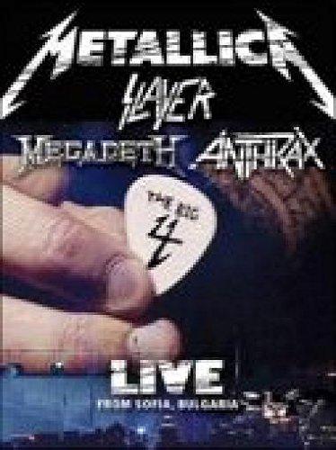 Metallica Slayer Megadeth Anthrax-The Big Four: Live From Sofia Bulgaria