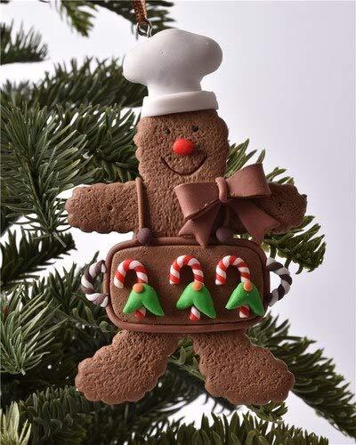 Baum Anhänger Lebkuchen Mann Dekoration Anhänger Weihnachten Dirt Charm Single