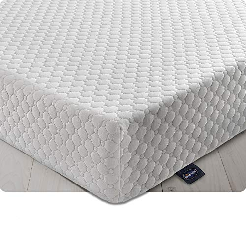 Silentnight 7 Zone Memory Foam Rolled Mattress | Made in the UK | |Medium Firm |Euro Double