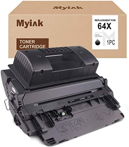 MYIK Compatible Toner Cartridge Replacement for HP 64X CC364X to use with Laserjet P4014 P4014N product image