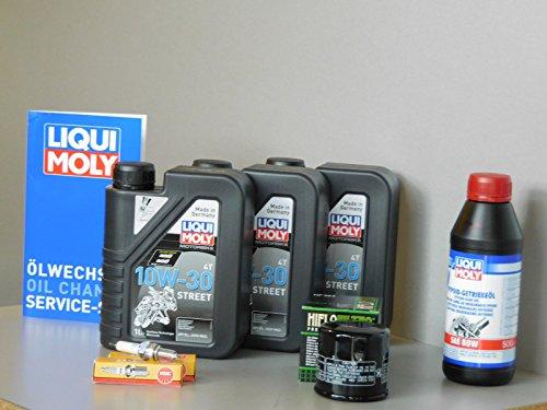 Kit de mantenimiento para moto Honda NT 700 V Deauville Service Inspección Bujía Aceite
