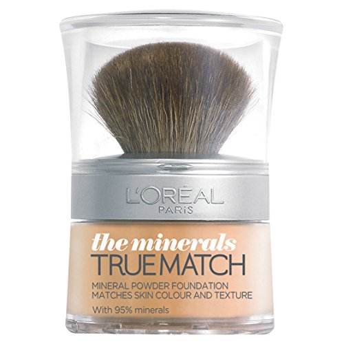 L'Oréal Paris True Match, Fondotinta in polvere minerale, 10 g, W3