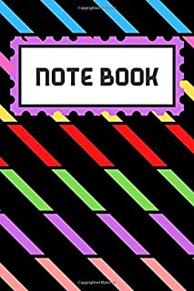 NOTE BOOK: School notebook : 100 Pages : Size 6 × 9