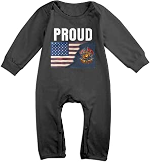 Proud Son of Marine Corps Baby Organic Pajamas Organic Bodysuits