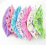 6paires de tissu non tissé Envers antidérapant Couvre-chaussures Floral Couleur Candy...