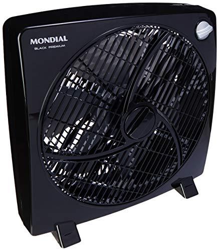 Mondial Premium Circulador de Ar, 3 Velocidades, Preto/Prata