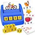 ELLIFA Educational Toys for Kids 5-7 Years Old Boys Girls Gifts, Matching Letter Learning Toys for 3 4 2 Year Olds Boys Girls for Preschoolers, Great Christmas Birthday Gifts for Toddlers.