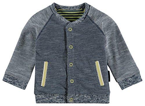 Noppies Baby-Jungen B Cardigan Sweat rev Karow Strickjacke, Mehrfarbig (Dark Blue C165), 56