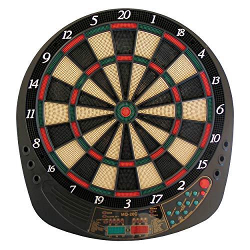 Best Sporting elektronische Dartscheibe Exeter Dartboard mit 12 Dartpfeilen und Ersatzspitzen Dartautomat mit Netzteil (Dartscheibe mit Spielen Shooter + Big Six UVM.)