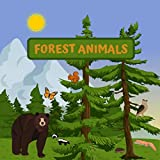 FOREST ANIMALS: FUN GUESSING GAME | A CUTE NOTEBOOK TO GUESS WHICH ANIMALS LIVE IN THE FOREST |  FOR 3-6 YEAR OLD KIDS |  KINDERGARDEN UP TO 2ND GRADE PRIMARY SCHOOL | CREATIVE GIFT. (English Edition)