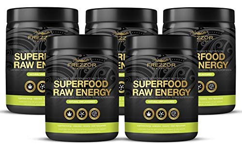 Hemp Protein Shake, 52 Superfoods & Antioxidants, Complete Protein Amino-Acids, Prebiotic & Probiotic, All-Natural & Certified, Raw Vegan Sports Performance & Recovery Nutrition Shake, 5 Pack