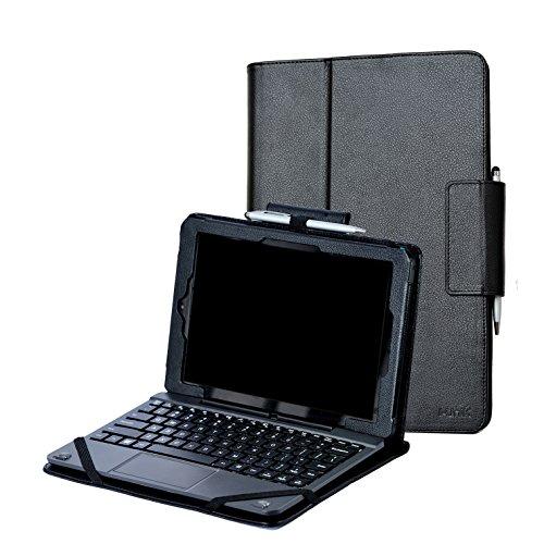 i-unik CASE for RCA 10 Viking Pro 10.1 & Compatible RCA 10 Viking II Tablet PC [NOT FIT 2019 Model] - (Black)