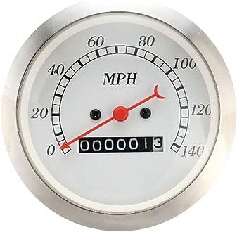 MOTOR METER RACING Classic Instruments Mechanical Speedometer Gauge Indicator Analog Odometer 3-3//8