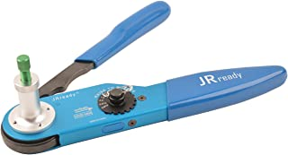 JRready YJQ-W2DT Aviation Crimping Tool Support Size 12,16,20 Solid Contact Work with Deutsch DT,DTM,DTP Qualified to DEUTSCH HDT-48-00 12AWG-22AWG