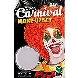 Carnival Toys Vasetto fondotinta bianco clown gr. 10 ca.