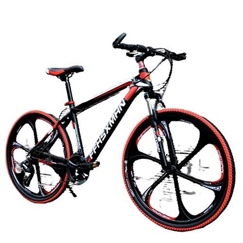 Find Discount AHAVINTAGE.COM 24 Inch/26 Inch High Carbon Steel Hard Tail Mountain Bike, Hybrid Bike ...