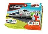 Märklin My World 29306 Kit de démarrage pour Enfant à partir de 3 Ans avec Train Miniature TGV, SNCF, Voie H0