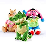 Cantajuego Pack Peluches Grandes: Coco, Burrito Pepe y Buby - Producto Oficial