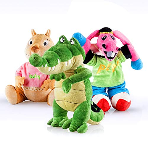 Cantajuego Pack Peluches Grandes: Coco, Burrito Pepe y Buby