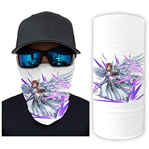 NA Anime sprookjes Erza Scarlet Magische ridders druk Bandana gezichtsmasker zonnebescherming gezichtssjaal