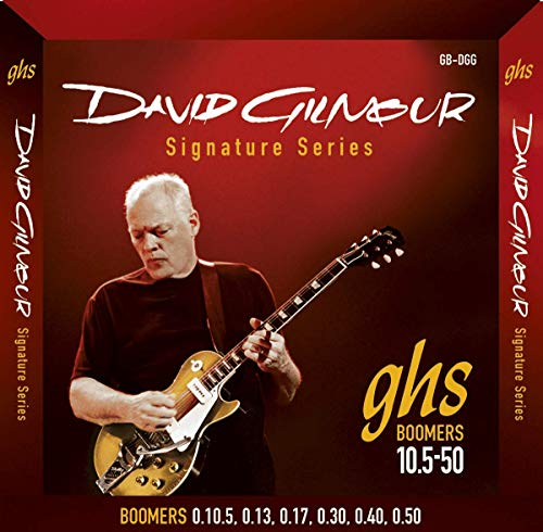 GHS: Dave Gilmour Signature Strings - Red Set (10.5-50s). para Guitarra Electrica