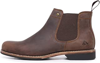 Colorado Ritter Brown Crazyhorse Mens Chelsea Boots Ankle Boots Mens Shoes