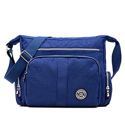 Foino Schultertasche Leichter Umhängetasche Wasserdicht Designer Messenger Bag Taschen Damen Kuriertasche Strandtasche Mode Sporttasche
