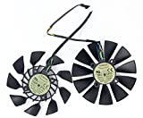2Pcs/lot T129215SU 12V 0.5A 95mm 5Pin Carte Graphique Fan For GTX780/780TI R9 280/280X R9 290/290x...