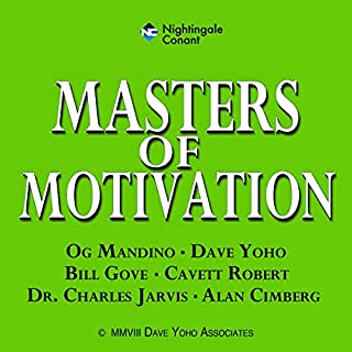 Masters Of Motivation audiobook cover art