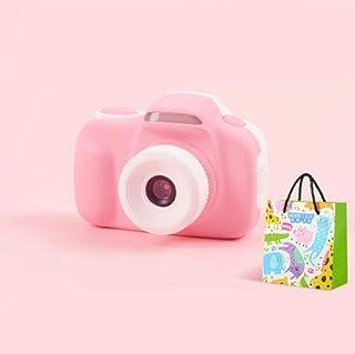 LMWB Barnkamera leksak kan ta bilder digitalkamera baby mini tecknad 240 000 rosa liten slr gåva @32G