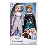 Frozen 2 Disney Queen Anna & Snow Queen Elsa Doll Set of 2 Classic Dolls 30cm...