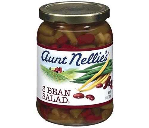 Aunt Nellie's 3 Bean Salad (Pack of 3) 15.5 oz Jars