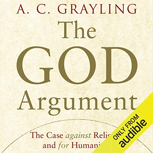 The God Argument audiobook cover art