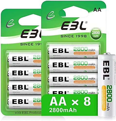 Pilas Recargables Ebl 2800 Marca EBL