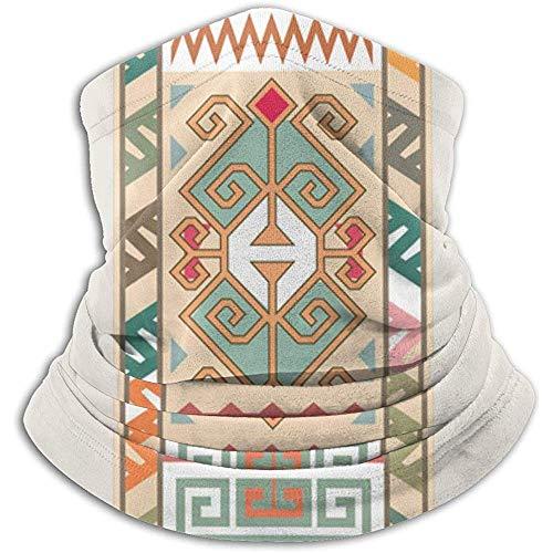 Oosterse Arabieren Midden Aziatische Perzische Ornament Unisex Fleece Nek Warmer Gezicht Warmer Nek Buis Nek Sjaal Neck Gaiters