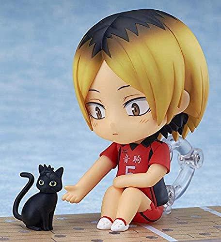 cheaaff Lucky Maggie Inbox Nendoroid 605 Haikyu 2 Kenma Kozume PVC colección de Figuras de acción Modelo de Producto Completo muñecas de Juguete