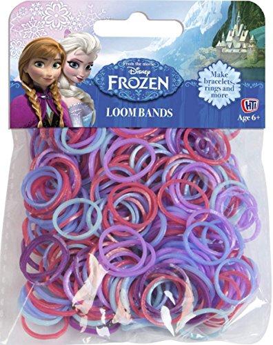 TOYLAND Bandes Disney congelés Recharge (200 Bandes Loom) - Anna et Elsa [Jouet]