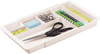 mDesign bac de Rangement pour Le Bureau – Range Couvert ou Papeterie Extensible avec 6 casiers pour Les Accessoires – bac ...