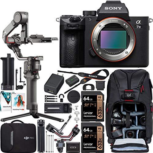 Sony a7 III Full-Frame Alpha Mirrorless Digital Camera a7III Body ILCE-7M3 Filmmaker