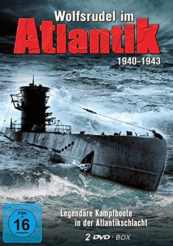 Wolfsrudel im Atlantik - Deutsche U-Boote im 2. Weltkrieg - Das Boot - (2 DVD Schuber)