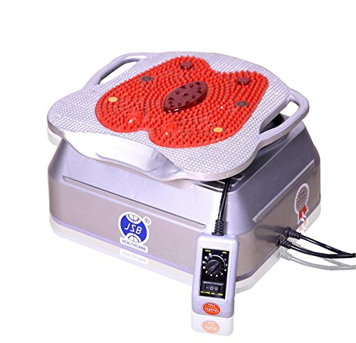 JSB HF12 Blood Circulation Machine Body Massager (AC Powered) (Silver-Red)