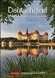 Deutschland Kalender 2021: Wochenplaner, 53 Blatt mit Zitaten und Wochenchronik
