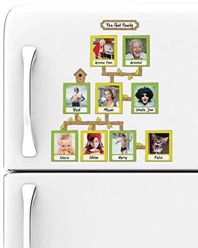 L'arbre généalogique aimanté pour frigo